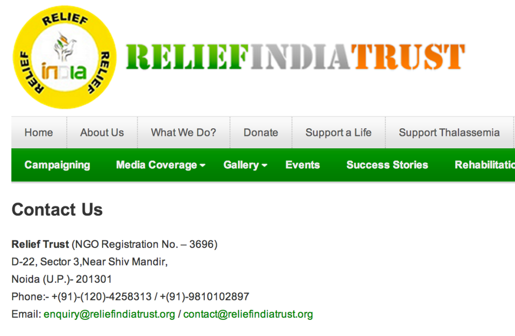 relief-india-trust-fraud-scam